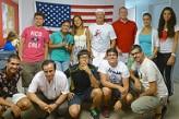 Grupo de estudiantes en Fort Laudardale