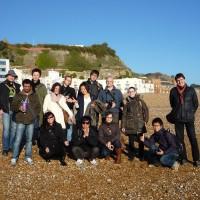 Por la playa de Hastings