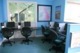 Sala de ordenadores en Worcester