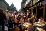 Terraza en Edimburgo