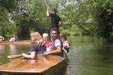 Un paseo en barco en Oxford