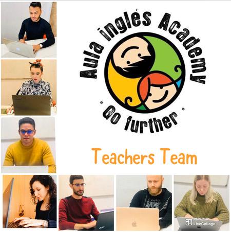 Profesores academia inglés